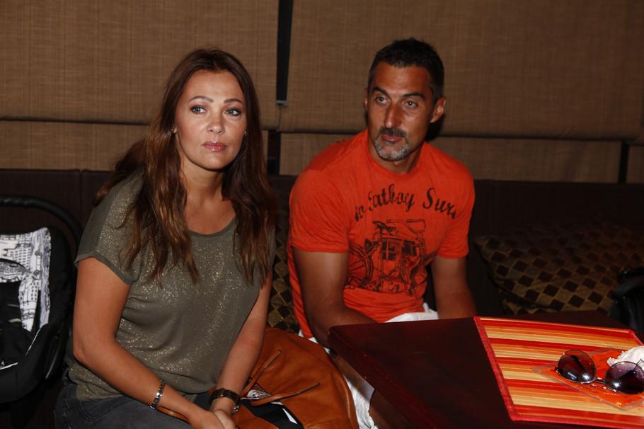 Nenad Zimonjić sa suprugom