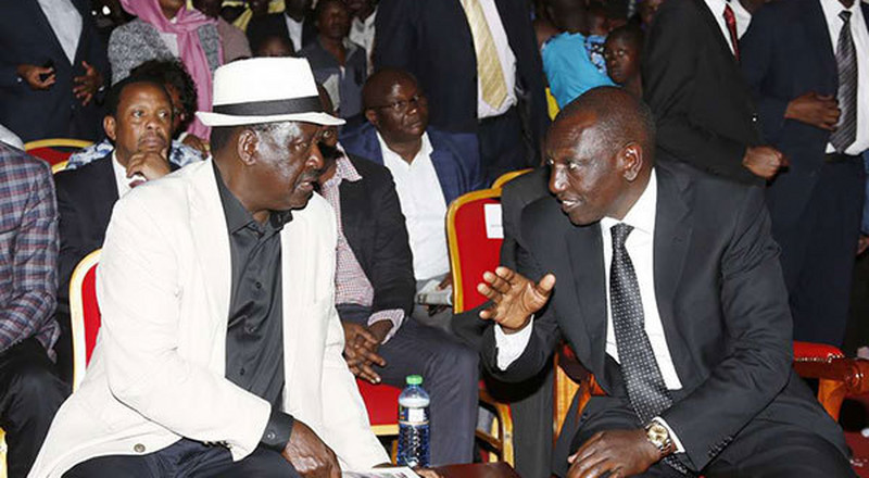 Speculations as DP Ruto and Raila sneak out of the country