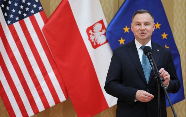 Andrzej Duda w USA
