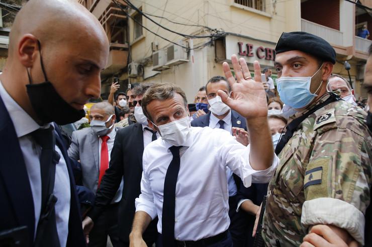 Emanuel Makron, Bejrut