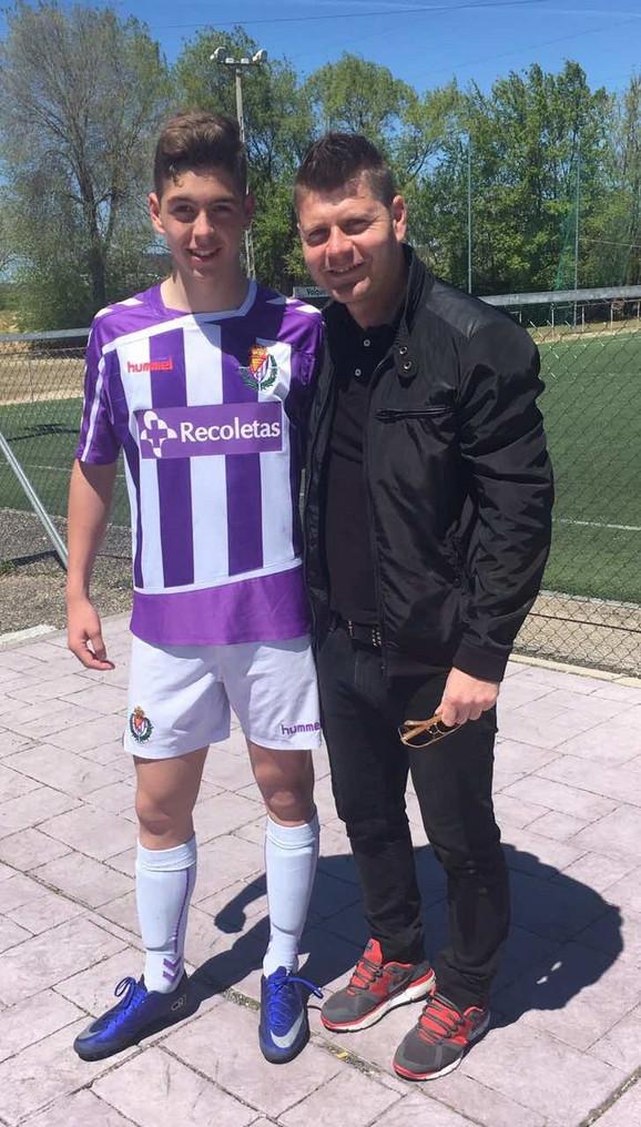 Dragan Isailović sa sinom Aleksandrom