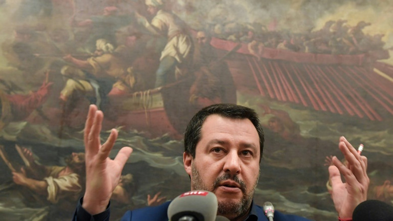 "Italy's Matteo Salvini said free elections should take place in Venezuela ""as soon as possible"""