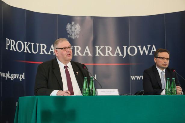 Przypomniał, że w środę, na polecenie prokuratury regionalnej w Katowicach, zatrzymano 3 osoby