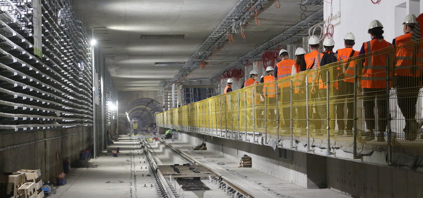 Odwiedziliśmy budowę stacji metra Bemowo. Pasażerowie odjadą stąd za rok