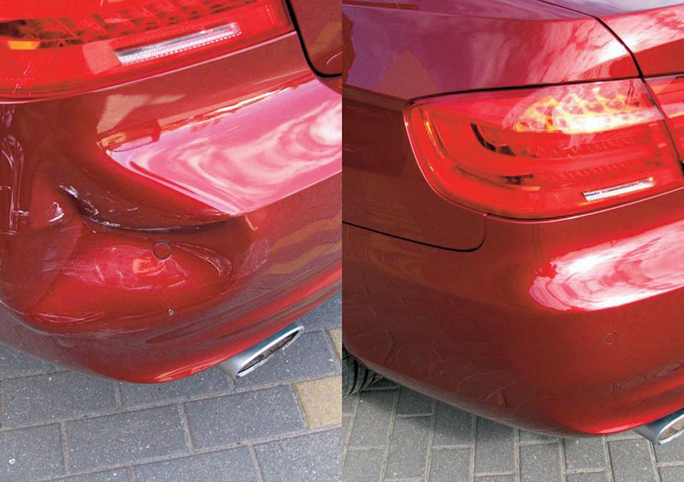 Быстрый ремонт пластиковых деталей кузова