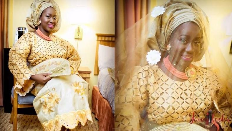 Nigerian bride makeover