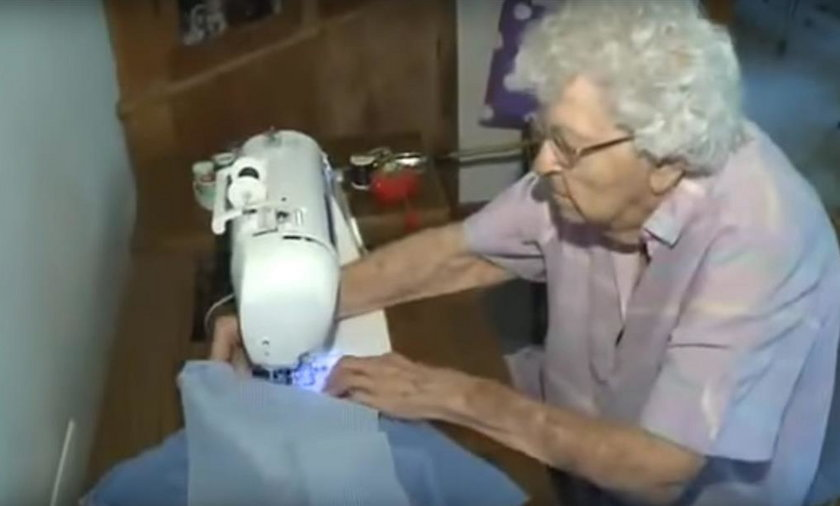 Ma 99 lat, ale to, co robi, jest niesamowite