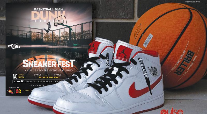SneakerFest: Inaugural Sneakers Festival in Nigeria set to hold in Lagos