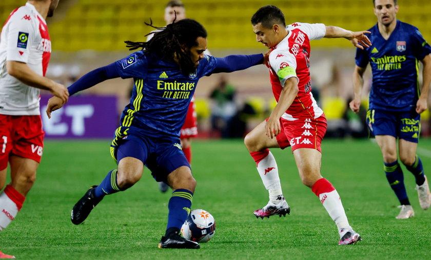 AS Monaco i Olympique Lyon stworzyły w niedzielny wieczór świetne widowisko.