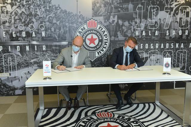 """NIS i KK """"Partizan"""" nastavljaju saradnju"""