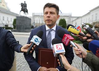 'Nie będzie naszej zgody na zmiany Konstytucji'. Petru komentuje spotkanie z prezydentem