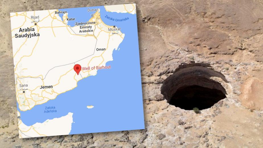 Okoliczna ludność uważała, że dziura jest siedliskiem demonów