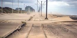 Sceny jak z apokalipsy! Miasta utonęły w piasku