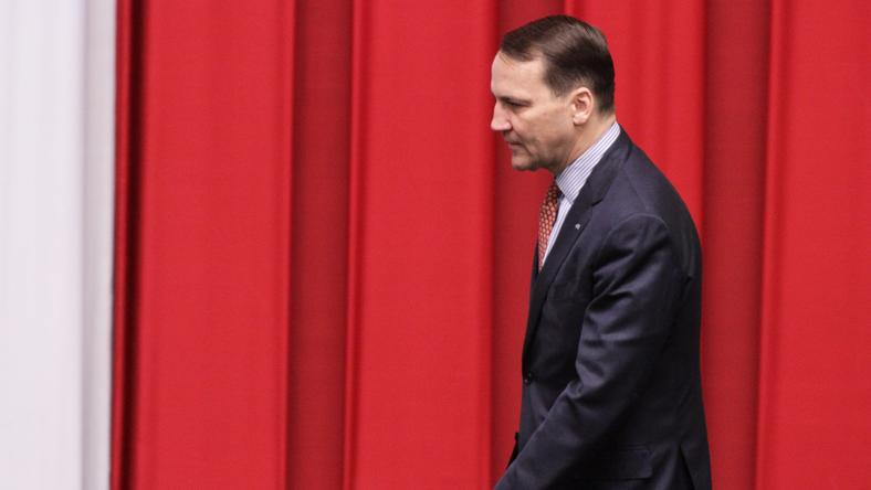 Radosław Sikorski był szefem MSZ w rządzie PO