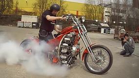 Silnik samolotowy w motocyklu?!