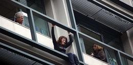 DRAMAT. Straciła pracę i chciała rzucić się z okna
