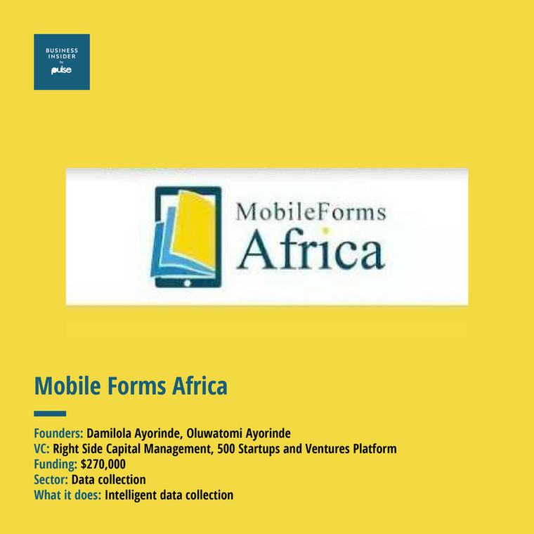 Mobile Form Africa