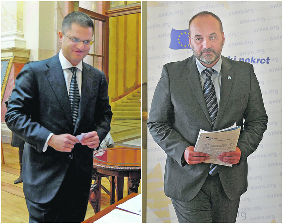 Vuk Jeremić i Saša Janković