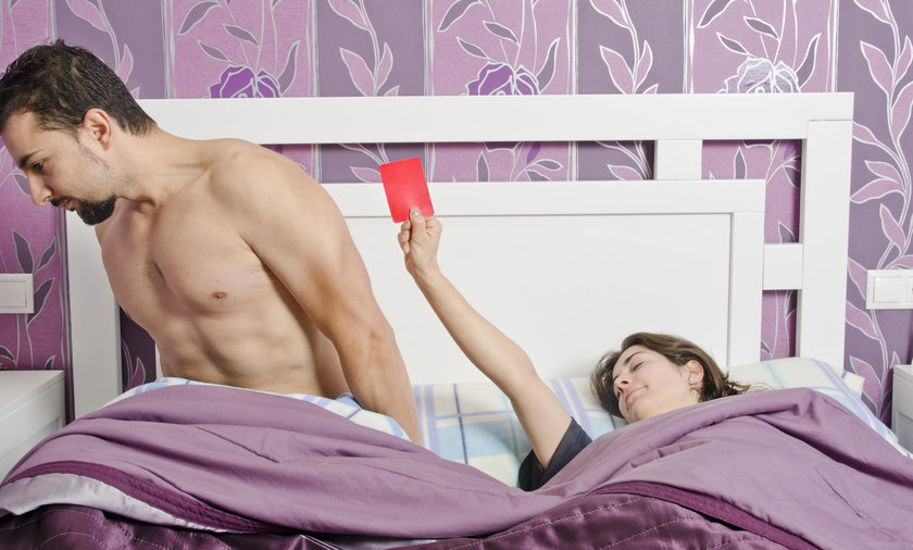 Co powiedzieć, kiedy nie masz ochoty na seks?