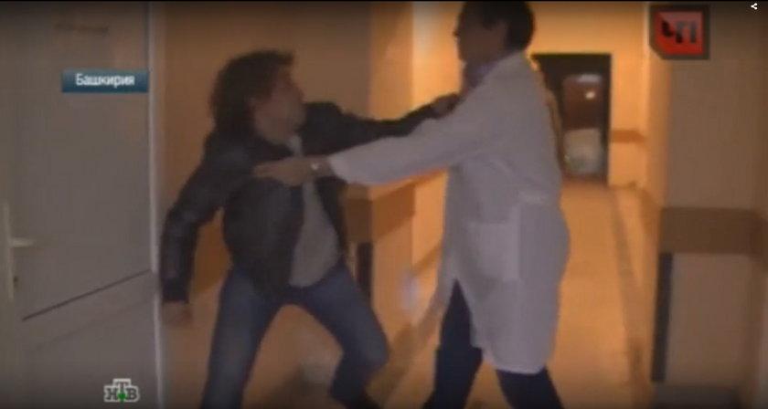 Pobił kumpla w barze i lekarza w szpitalu