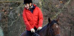 Dereszowska na koniu zaraża swoją córkę pasją