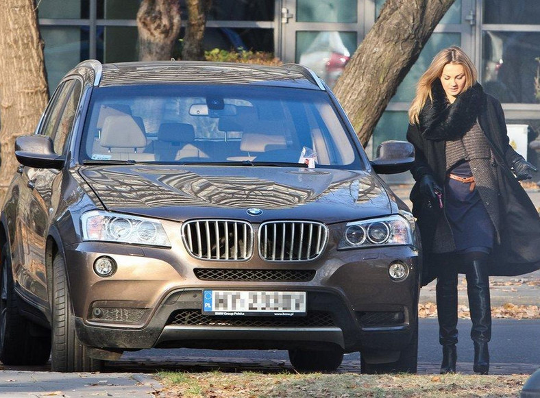 Małgorzata Socha ukarana za brak opłaty parkingowej