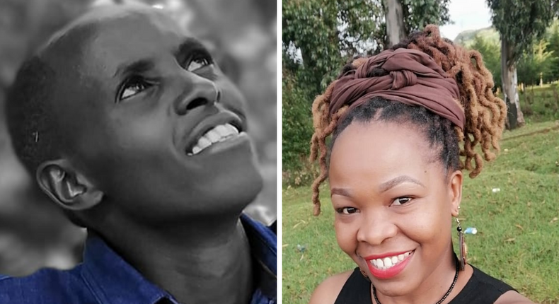 Sam Mwaniki (left), a teacher as well as Dr. Elizabeth Amakove Wala have been selected for the 2021 Facebook Community Accelerator Program, where they will receive training, mentorship and over Sh.5 million in funds to invest in an initiative that extends their community's positive impact.