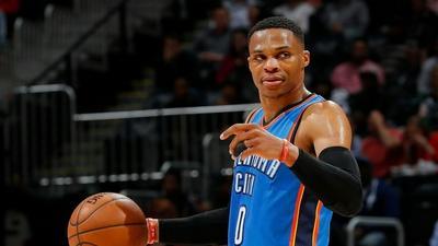 Oklahoma City's Westbrook bags sixth triple-double