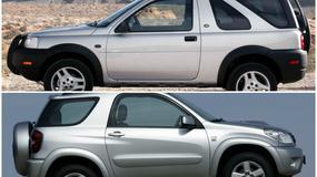 Porównanie: Land Rover Freelander I vs Toyota RAV4 II - pojedynek w klasie SUV