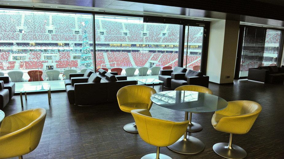 Koronawirus w Polsce. Tak wygląda wnętrze Stadionu Narodowego