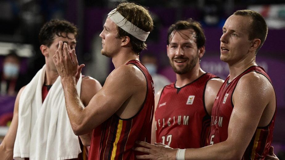 Belgijscy koszykarze 3x3 w Tokio byli blisko wywalczenia brązowych medali