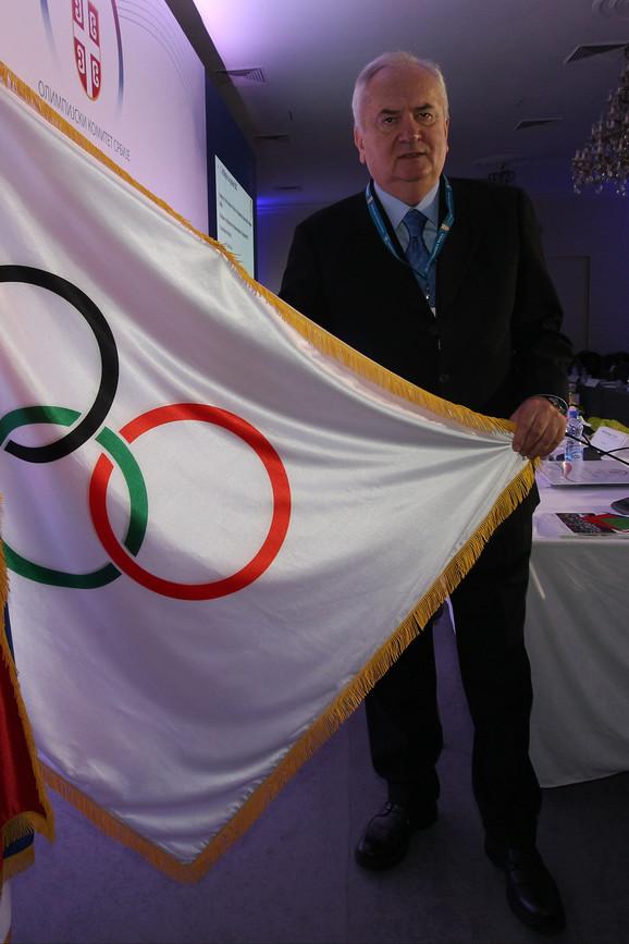 Božidar Maljković, predsednik Olimpijskog komiteta Srbije