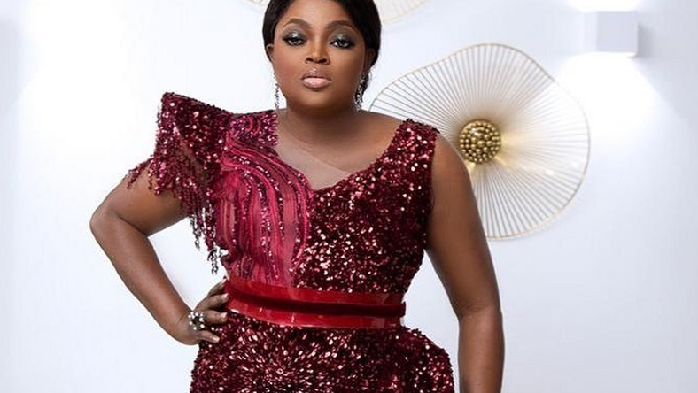 There are reports that Funke Akindele-Bello and her siblings were all absent her their late father's funeral held over the weekend. [Instagram/FunkeJenifaAkindele]