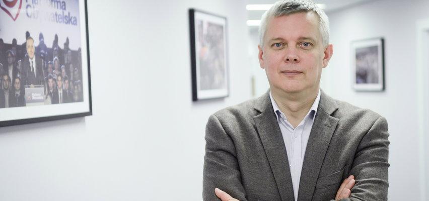 Siemoniak: PO z Tuskiem będzie w centrum