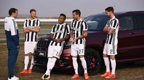 Szczęsny i koledzy z Juventusu testowali Jeepy