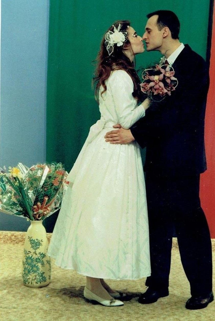 Zdjęcie ślubne Małgorzaty i Pawła Kukizów
