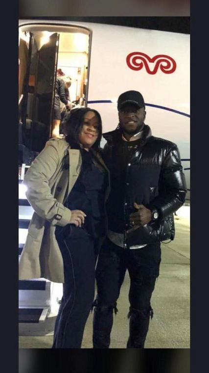 Victor Moses arrived in Turkey with his wife to complete a medical ahead of the move (Twitter/1907Media)