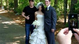 John Travolta zaskoczył młodą parę!