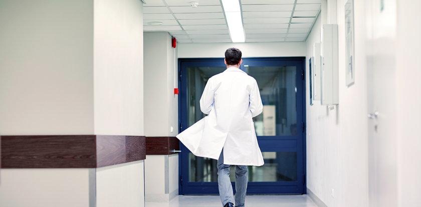 Pijany lekarz awanturował się na dyżurze. Wyprowadziła go policja