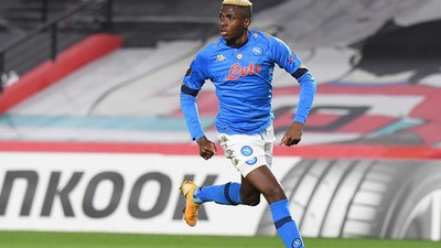 Nigerian striker Victor Osimhen cleared of bringing a new COVID-19 variant to Italy