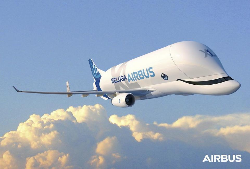 Airbus BelugaXL przypomina gatunek wieloryba - białuchę. Wprost nawiązuje do tego nowe malowanie, które ma znaleźć się na kadłubie samolotu.