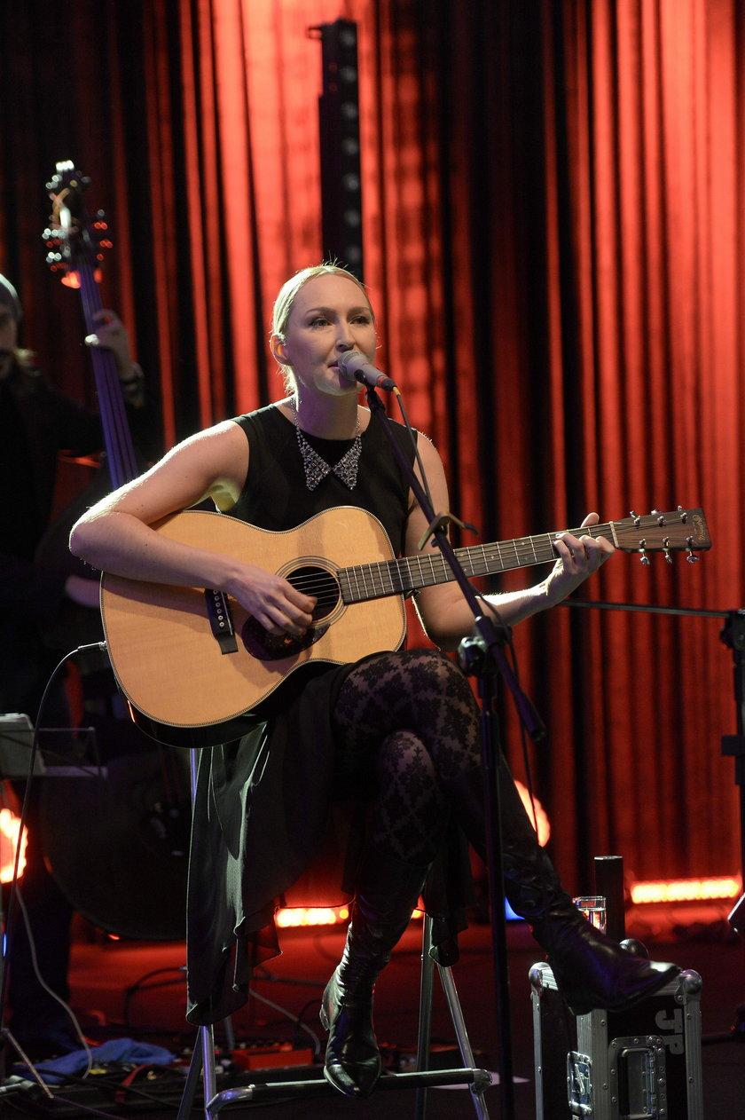 Anita Lipnicka na koncercie