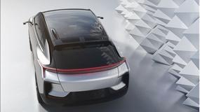 Faraday Future FF 91 sam wyszuka miejsce parkingowe