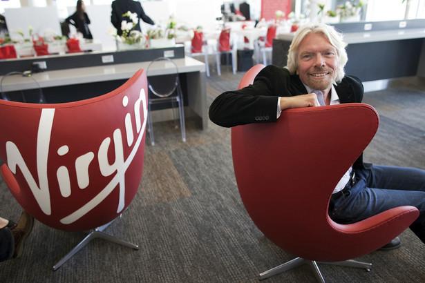 Richard Branson, założyciel i prezes Virgin Group Ltd.,