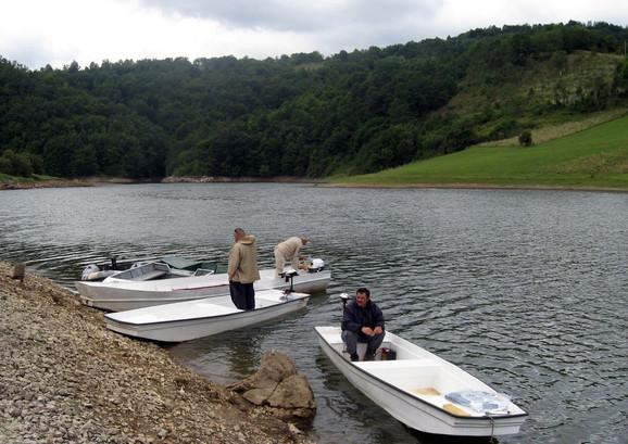 Od 12 urađeno pet merenja: Jezero Vrutci kod Užica