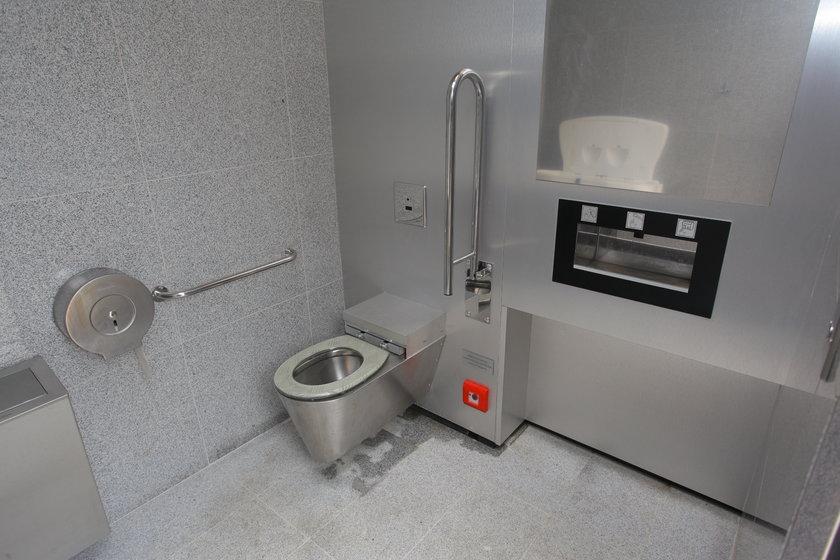 Wnętrze WC