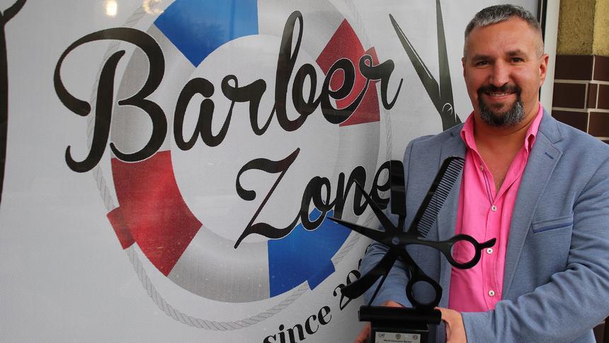 Właściciel Salonu Fryzjerskiego Barber Zone Został Mistrzem świata