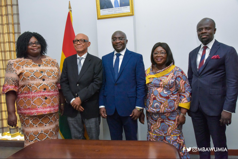 Bawumia swears in Commission