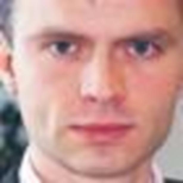 Piotr Bańdur, specjalista w zakresie podatków pośrednich, konsultantem PricewaterhouseCoopers Fot. Arch.
