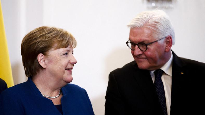Angela Merkel i Frank-Walter Steinmeier